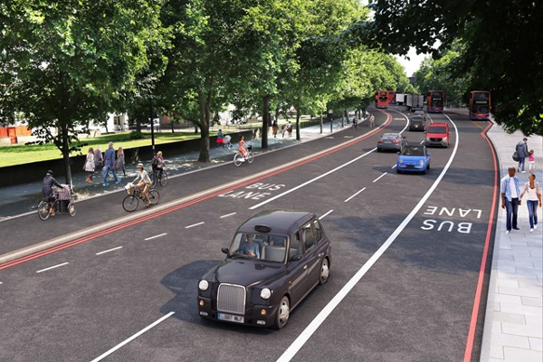 Construction of cycle superhighway in south-east London to begin in 2019