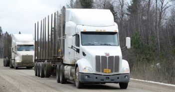Auburn University and local partners conduct first on-road truck platooning trials in Canada