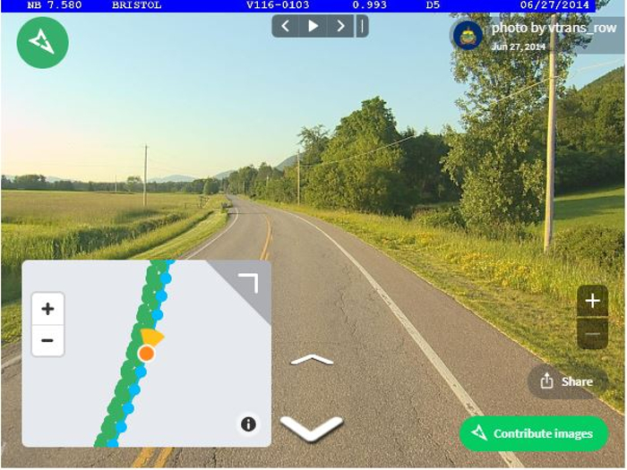 Mapillary imagery platform aiding highway projects in Vermont