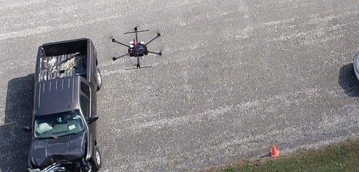 Drones used at crash sites to reduce assessment times