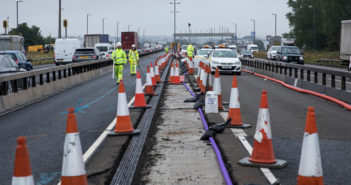 Highways England using contraflows to speed up North West motorway upgrades