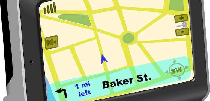 What year was the first commercial 'satnav' GPS released?