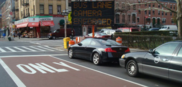 New York City to install Siemens camera system for bus lane