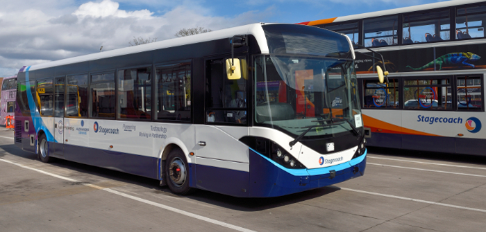 UK's first full-size autonomous bus starts trials in Manchester