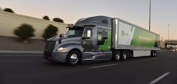 TuSimple develops new camera system for self-driving trucks