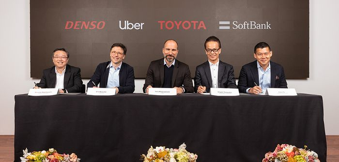 New investment to accelerate Uber's deployment of automated ridesharing services