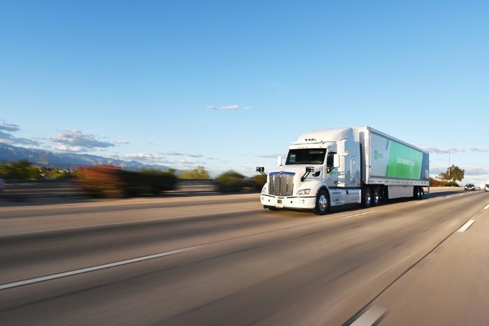 TuSimple starts autonomous truck deliveries for the US