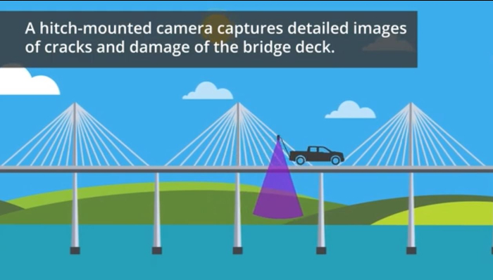 Michigan uses cinema-grade camera for better bridge deck