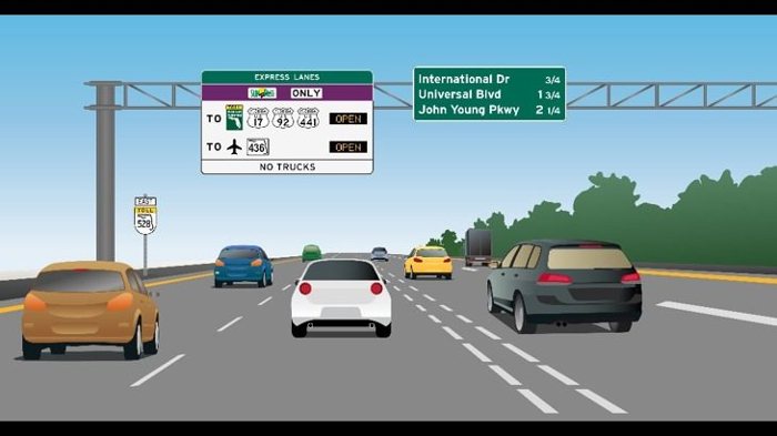 Florida opens new Express Lanes on the Beachline Expressway