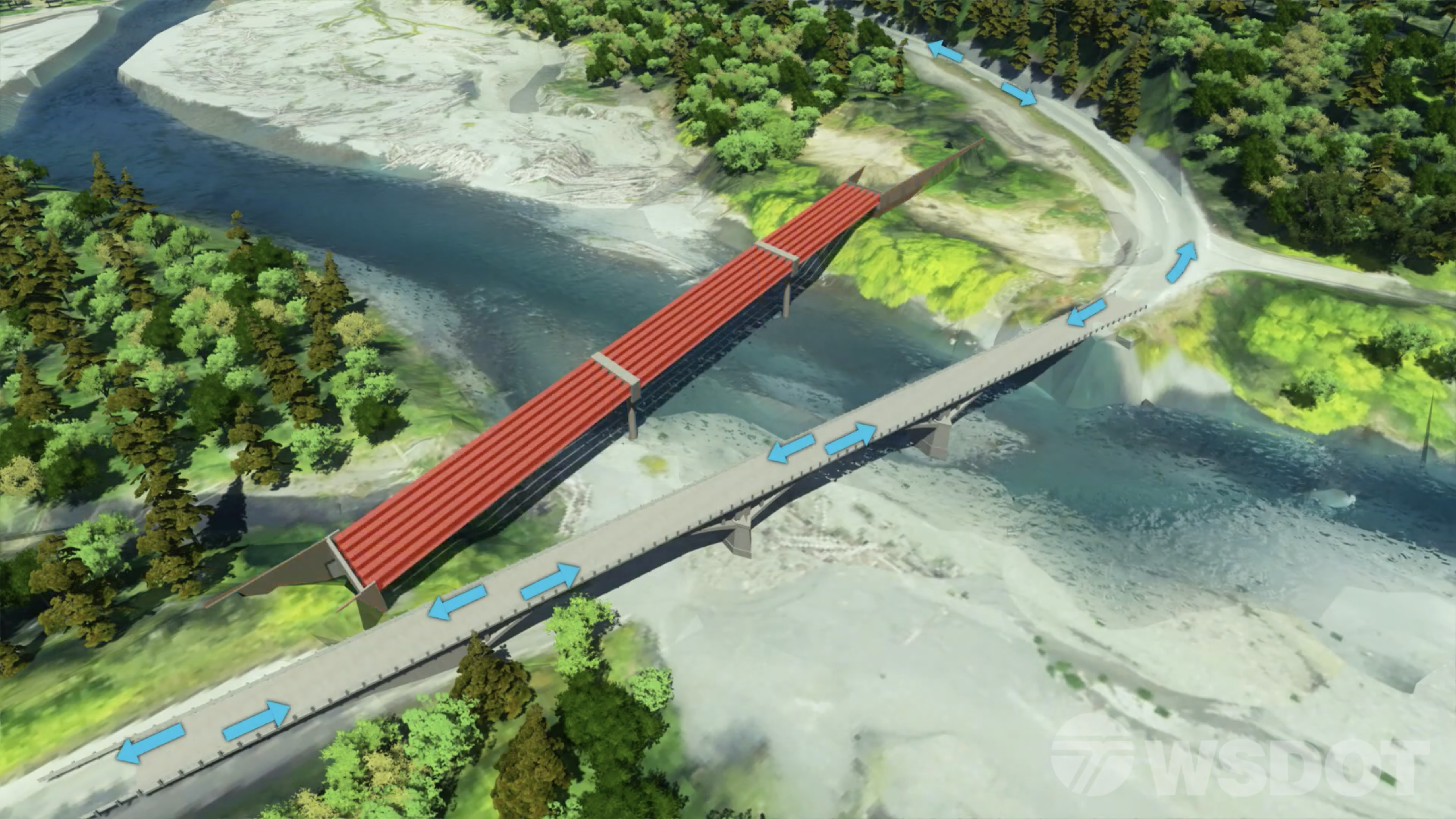 WSDOT's bridge replacement project   Traffic Technology Today