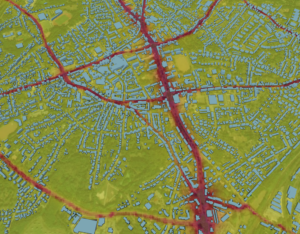 High-res air pollution map available globally | Traffic ...