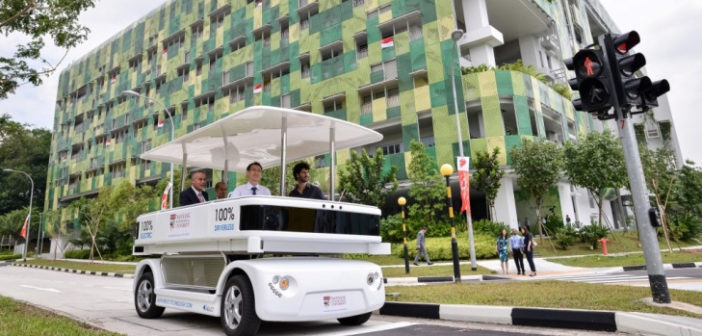 Singapore to develop first 5G C-V2X research testbed on NTU campus
