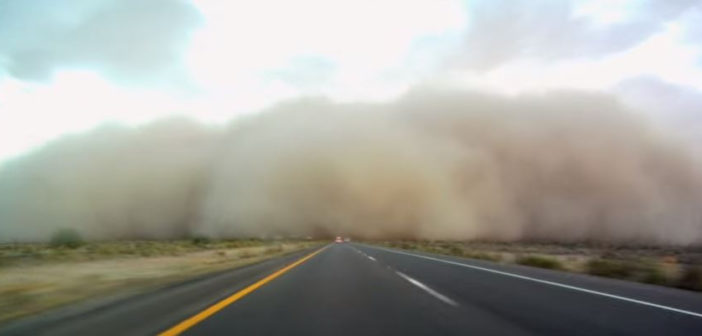 Arizona's new dust detection and warning system to improve safety on I-10