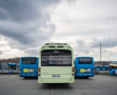 Volvo demonstrates operation of autonomous electric bus at depot