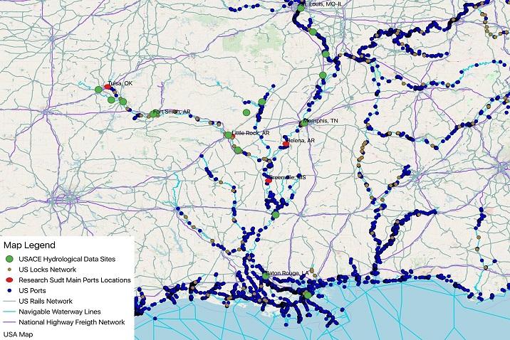 Multimodal \'big data\' transportation network map in ...