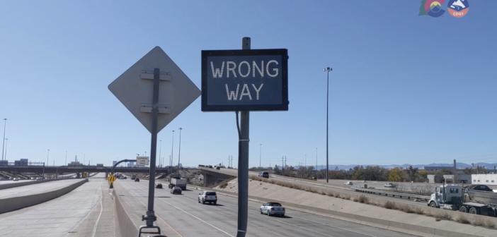 CDOT's new wrong way warning system
