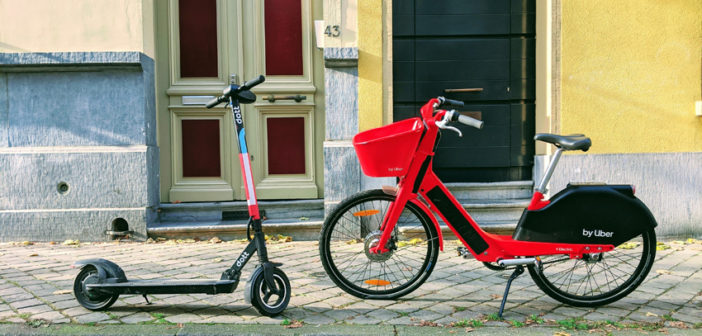 New study shows new mobility services are only sustainable when combined with public transportation