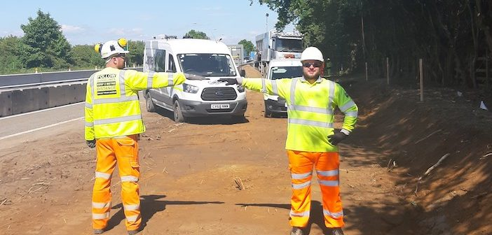 Covid-19: Highways England adapts existing tech to aid social distancing for road workers