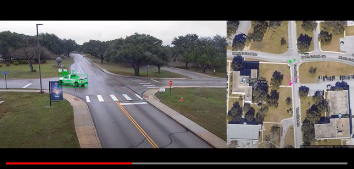 VIDEO: SwRI demonstrates video-based speed detection