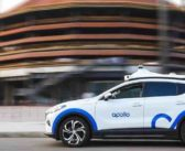 Chinese tech giant Baidu showcases fully automated driving