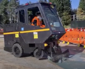 New roadwork vehicle cuts noise and dust