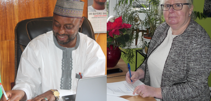 ITS (UK) and Nigerian Institute of Transport Technology (NITT) sign co-operation MoU