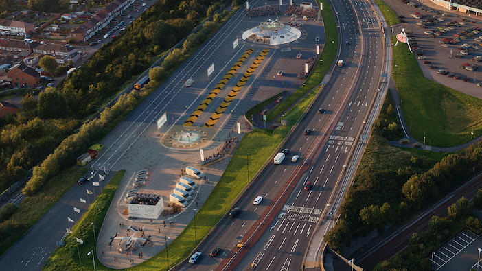 Hyundai's first BEV airport to take off in the UK