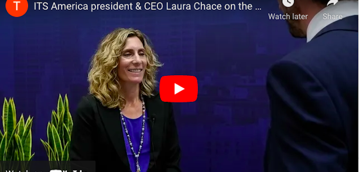 EXCLUSIVE VIDEO: ITS America president and CEO Laura Chace on the ITS World Congress