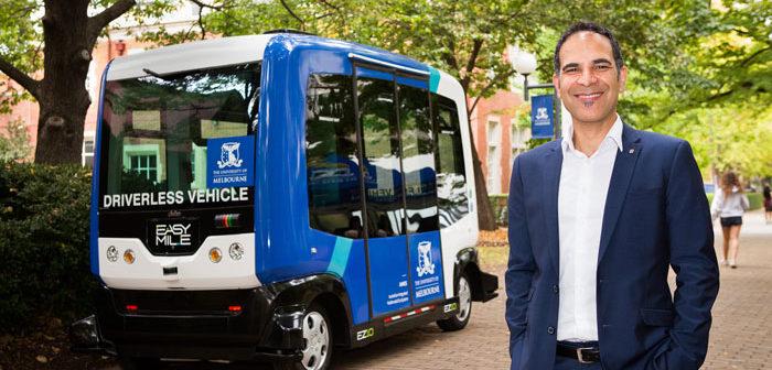 INTERVIEW: Prof. Majid Sarvi on Melbourne's V2X smart mobility hub